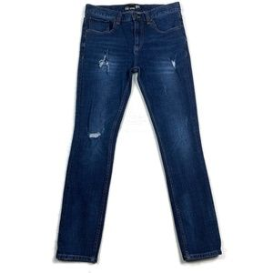 RSQ Seattle Skinny Tapered Jeans Destroyed